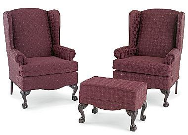 Roundup wingback chairs popsugar home for Jcpenney living room chairs