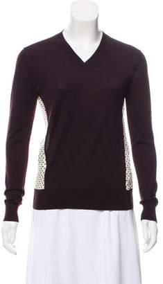 Chloé Wool Long Sleeve Sweater