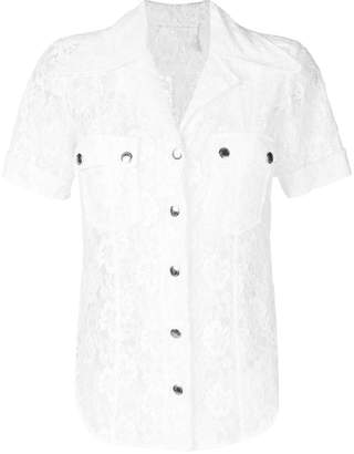 Chloé lace short sleeve shirt