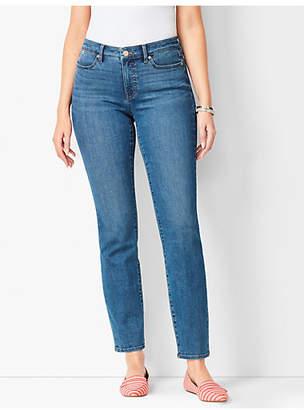 Talbots Slim Ankle Jeans - Curvy Fit - Equinox Wash