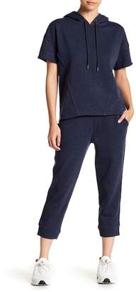 Andrew Marc Crop Knit Joggers