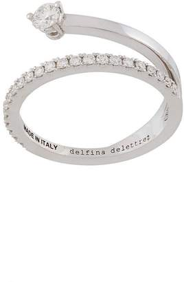 Delfina Delettrez 18kt white gold Marry Me diamond ring