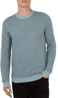 Ted Baker Malttea Textured Crewneck Sweater