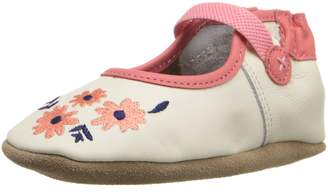 Robeez Emma Mary Jane Soft Sole Crib Shoe (Infant)