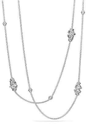 David Yurman Crossover Station Necklace with Diamonds