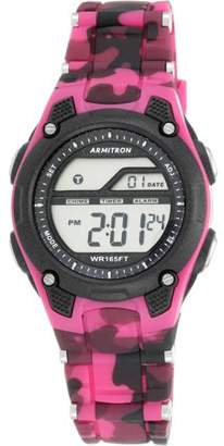 Armitron Women's Sport Countertop Camouflage Watch, Resin Band