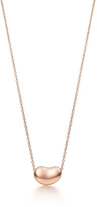 Tiffany & Co. Elsa Peretti Diamonds by the Yard heart necklace in 18k gold