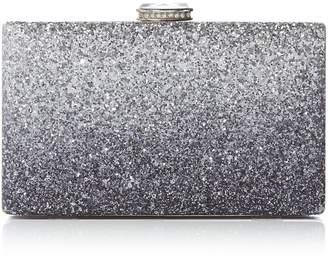 Issa Thea gradient box clutch bag