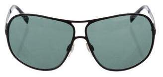 Chanel Oversize Aviator Sunglasses