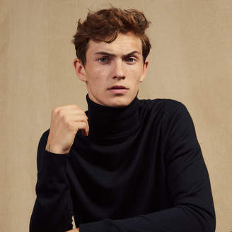 Sandro Roll neck wool sweater