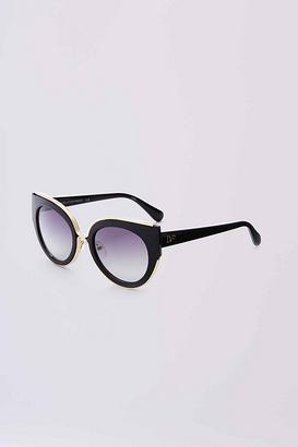 Norah Cat Eye Sunglasses $136 thestylecure.com