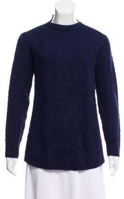 Sacai Luck Patterned Wool Sweater