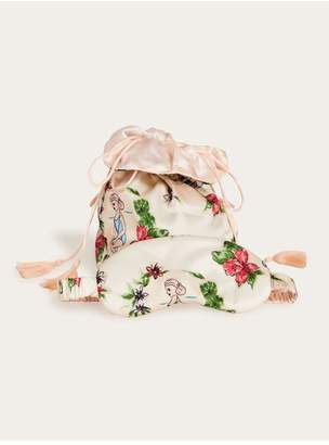 Morgan Lane Tropical Lanie Mask And Tassel Bag