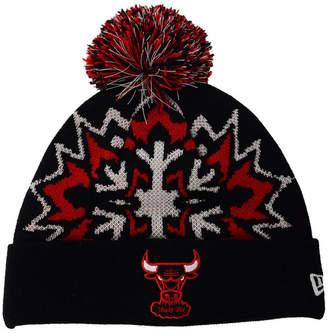 New Era Chicago Bulls Glowflake Knit Hat