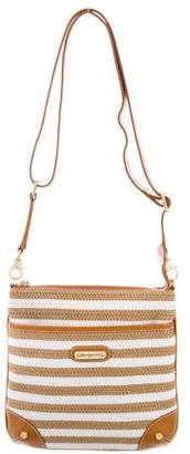 Eric Javits Squishee Leather-Trimmed Bag