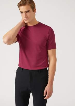Emporio Armani Stretch Jersey T-Shirt