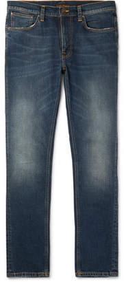 Nudie Jeans Lean Dean Slim-Fit Organic Stretch-Denim Jeans