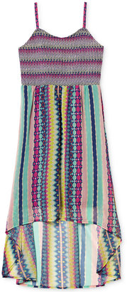 Jessica Simpson Multi-Pattern High-Low Dress, Big Girls (7-16) $49.50 thestylecure.com