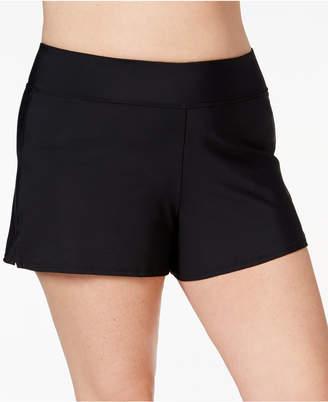 Macy's Swim Solutions Plus Size Swim Shorts, Created for