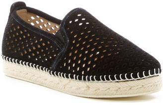 Steve Madden Persy Perforated Espadrille Flat $79.95 thestylecure.com