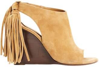Chloé Camel Suede Sandals
