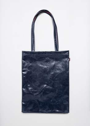 Farah Sies Marjan Lacquered Tote Bag