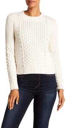 Rebecca Taylor Honeycomb Wool Blend Sweater