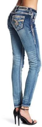 Rock Revival Fleur Rhinestone Accented Skinny Jean $164 thestylecure.com