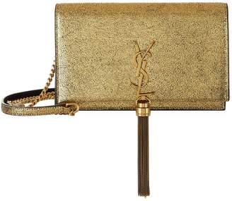 Saint Laurent Glitter Kate Tassel Wallet Bag