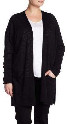 Susina Long Knit Cardigan (Plus Size)