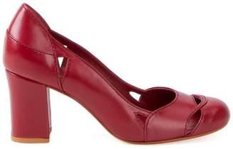 6456993820ff Sarah Chofakian chunky heel pumps