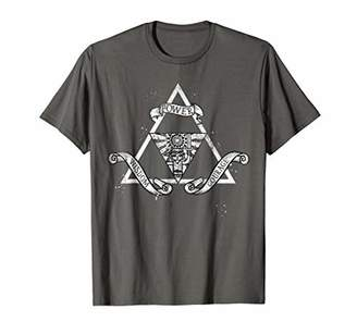Nintendo Zelda Power Wisdom Courage The Triforce T-Shirt