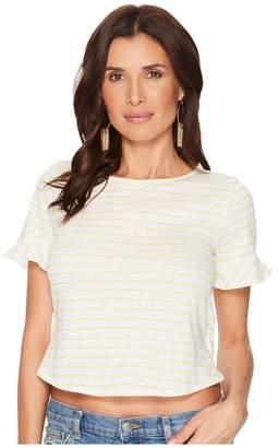 Lucky Brand Stripe Tee Women's T Shirt