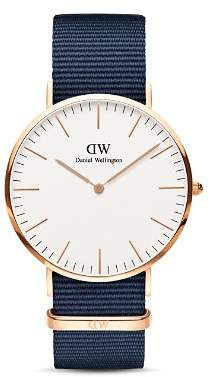 Daniel Wellington Classic Bayswater NATO Watch, 40mm