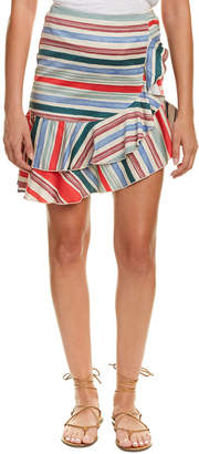 Red Carter Sabrinah Mini Skirt