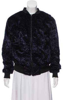Nomia Textured Bomber Jacket