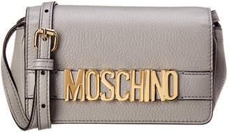 Moschino Mini Logo Leather Crossbody