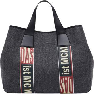 MCM Stadt Tote In Loden