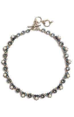 Marchesa Imitation Pearl & Crystal Necklace