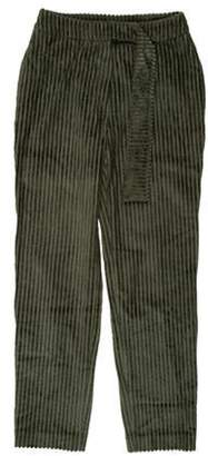 Cacharel Mid-Rise Pants w/ Tags Green Mid-Rise Pants w/ Tags