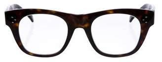 Celine Tortoiseshell Wayfarer Eyeglasses
