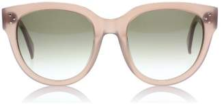 Celine Women's CL41755 CL/41755 GKY/DB Opal Brown Fashion Cat Eye Sunglasses