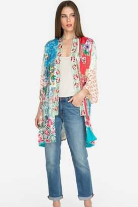 Johnny Was Multi Print Kimono