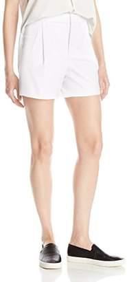 Vince Women's High Waisted Pleated Short
