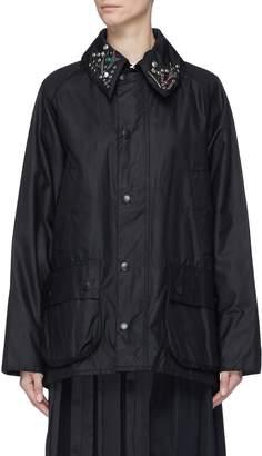 Barbour TOGA ARCHIVES x 'Bedale' embellished slogan embroidered jacket