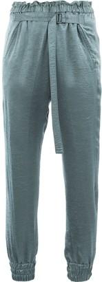 Ann Demeulemeester adjustable waist trousers