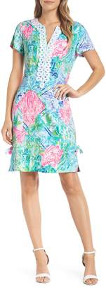 Lilly Pulitzer R) Casidy Floral Print Dress