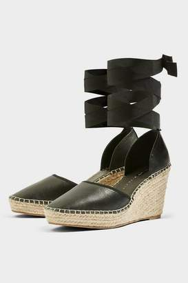 Topshop ** Wide fit Williams Espadrille Wedges