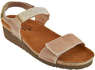 Naot Footwear Leather Embellished Sandals - Lisa