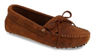 Women's Minnetonka Kilty Driving Moccasin $16.97 thestylecure.com